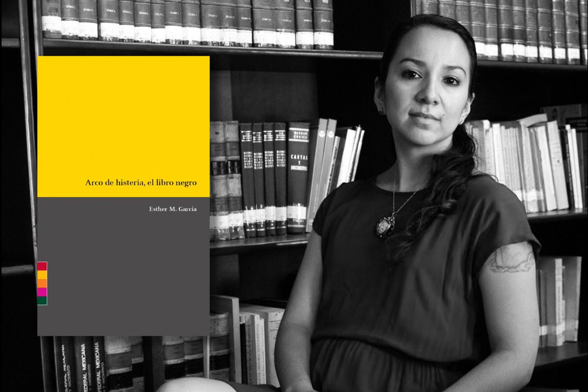 Cartografías del dolor en 'Arco de histeria, el libro negro' de Esther M. García