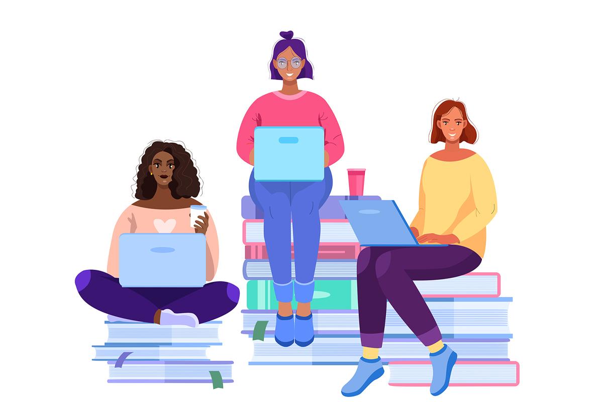 Las mujeres de mi biblioteca