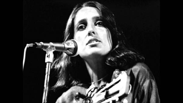 La legendaria Joan Báez