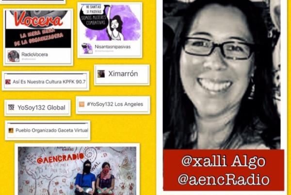 Preocupa arresto de la locutora Xalli Algo en la estación radial KPFK de Los Ángeles